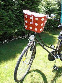 FiLuMas genähte Schätze: Fahrradkorb Deluxe