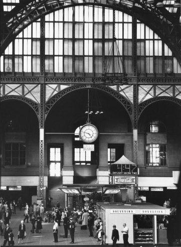 Penn Station 1963   Penn Station, 1963: Walker Evans' Portraits of a Doomed American Treasure   LIFE.com