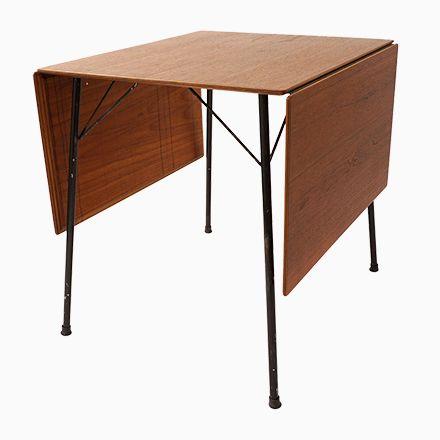 Trend Mid Century Klapptisch Modell von Arne Jacobsen f r Fritz Hansen Jetzt bestellen unter