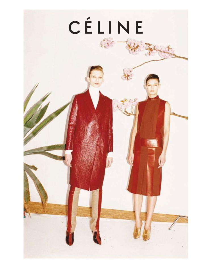 Celine Fall 2011 Campaign | Kirsi Pyrhonen, Monika Sawicka & Emilia Nawarecka by Juergen Teller