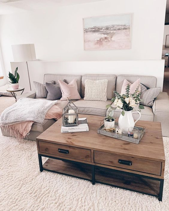 32 Amazing Modern Farmhouse Living Room Design Ide…