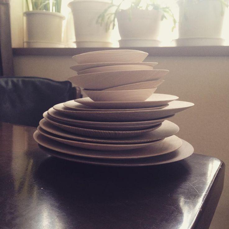 #乾燥材 #木のお皿