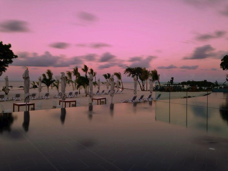 Centara Grand Azuri at Sunset