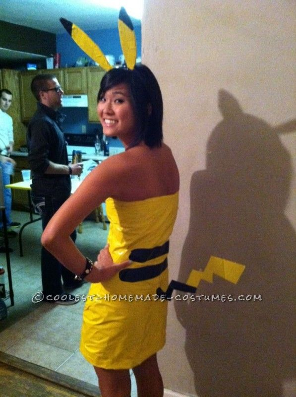 cutest ash and pikachu halloween couples costume - Pikachu Halloween Costume Women