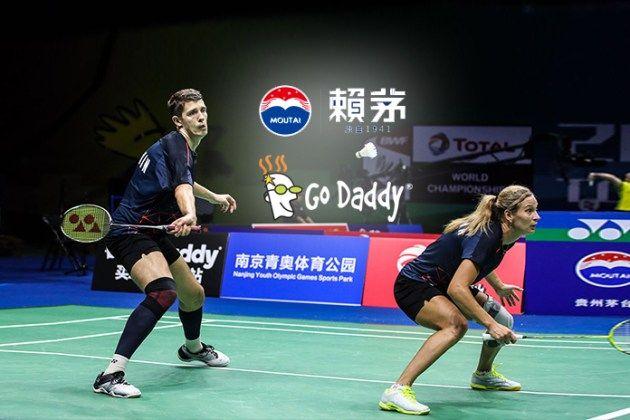Bwf World Championships Laymau Godaddy Among The Main Sponsors World Championship World Badminton