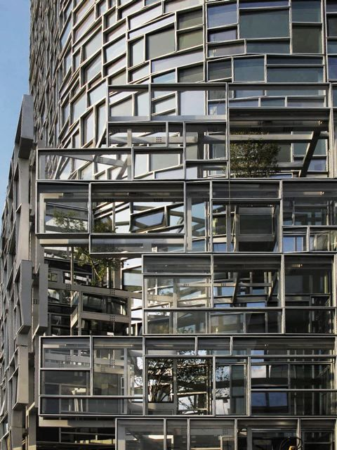 11 best images about window wall on pinterest nyc for Architecture jean nouvel