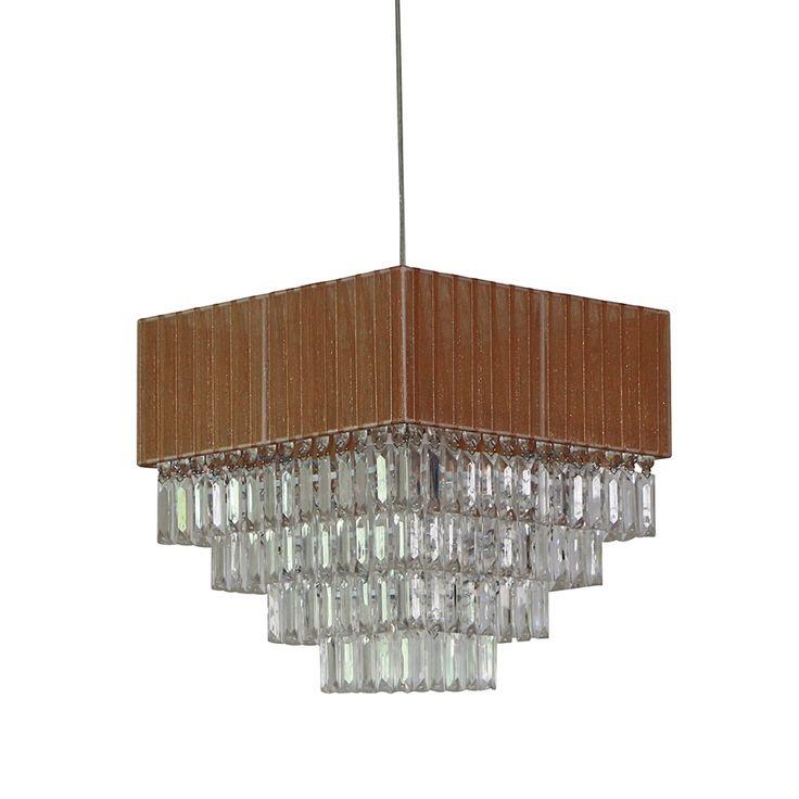 Lampada a sopensione - Tessuto 1 luce