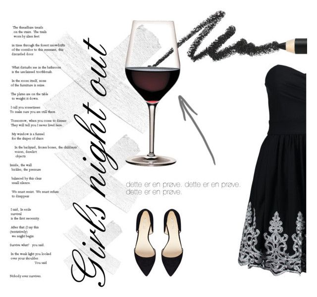 """Girls night out"" by trine-danskgaard-jensen on Polyvore"