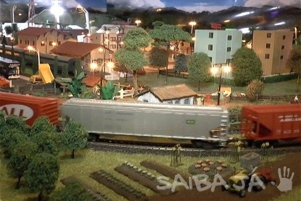 Maquete de Mini Cidade é exposta em Matão