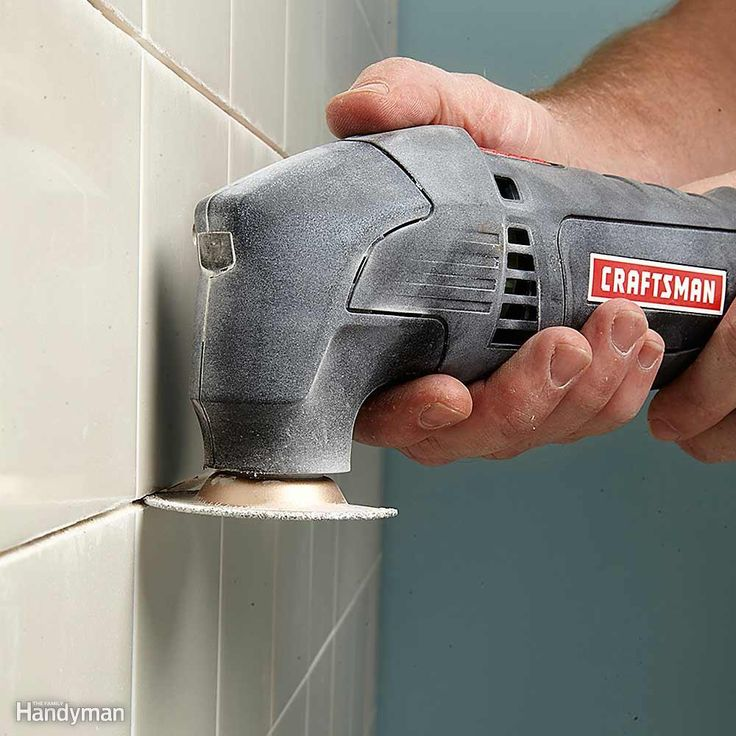 How To Remove Old Grout From Tile