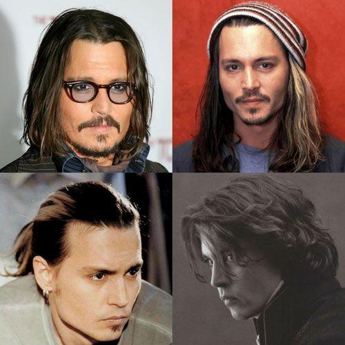 Johnny Depp Long Hair Johnny Depp Hairstyle Johnny Depp Long Hair Long Hair Styles