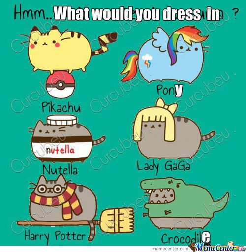 Pusheen Cosplay; I'd be Rainbow Dash! Our group of 5(Kayla, Me, Keira, Chris,  Kevin) plus 1 random person