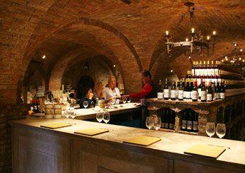 It took fourth-generation Italian winemaker Dario Sattui 15 years to construct his replica of a 12th century Tuscan castle. Castello dia Morosa in Napa.