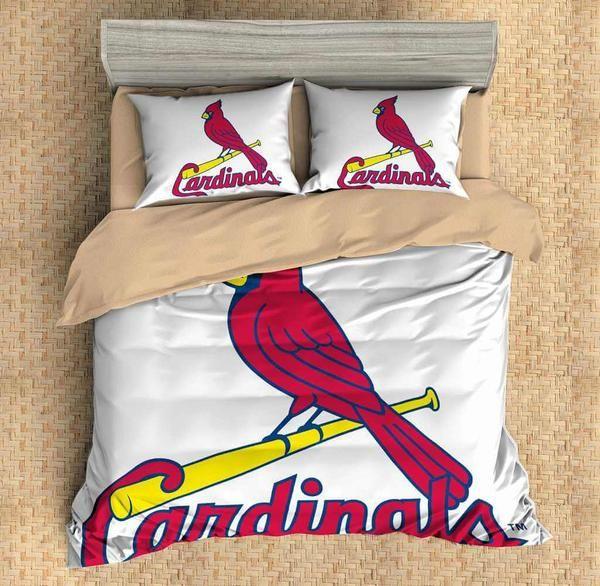 3d Customize St Louis Cardinals Bedding Set Duvet Cover Set