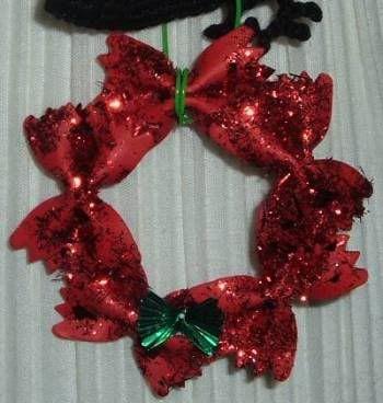 Bowtie pasta ornament