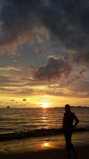 Sunset at Pandan City, Centre Tapanuli North Sumatera Indonesia