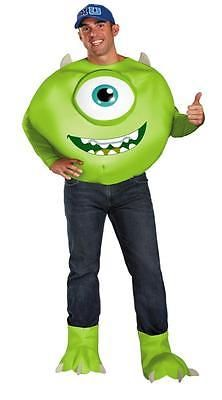 ADULT DISNEY MONSTERS INC UNIVERSITY MIKE 3D COSTUME DG58781D