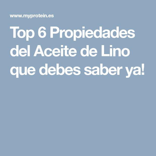 Top 6 Propiedades del Aceite de Lino que debes saber ya!