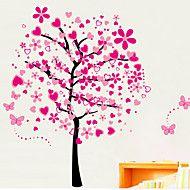 Botanický+motiv+Samolepky+na+zeď+Samolepky+na+stěnu+Ozdobné+samolepky+na+zeď+Materiál+Snímatelné+Home+dekorace+Lepicí+obraz+na+stěnu+–+CZK+Kč+271