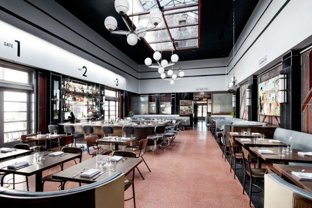 Savannah, GA restaurant in old Greyhound bus terminal | The Best Designed Restaurant of the Year Is The Grey photo