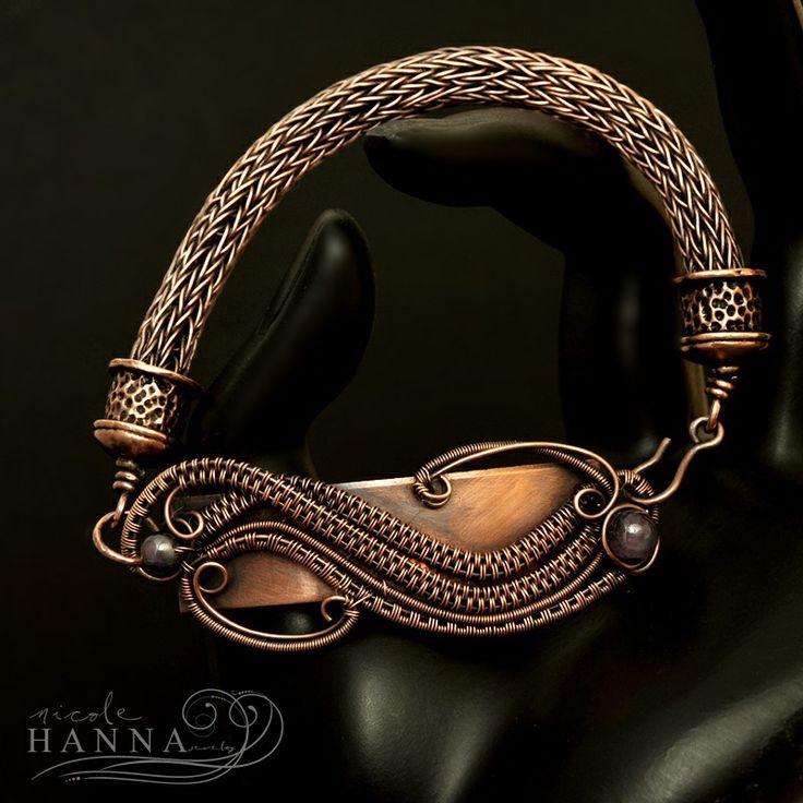 Viking Knit Metal Blank Bracelet | JewelryLessons.com