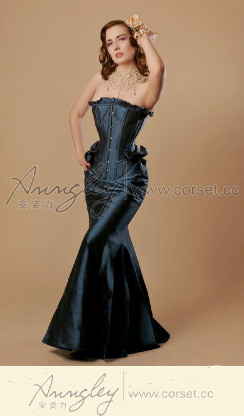 Sexy Elegant Overbust Corset -- Corset,Waist Training,Corset Dress,Plus Size Corsets,Wholesale Corsets