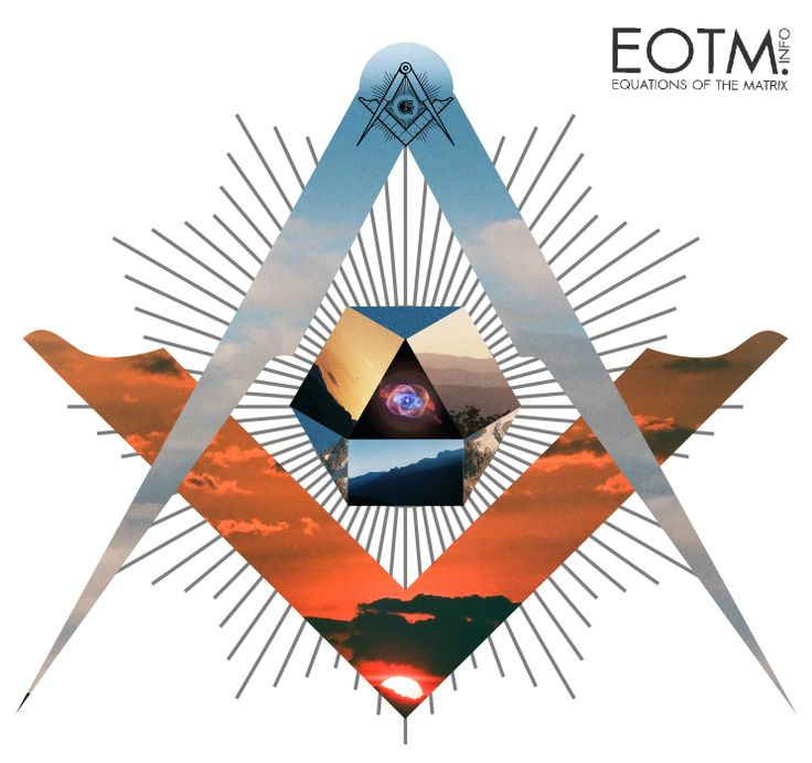 Art by eotm.info --> Circle the Square.  Tags: Square and compass, third eye, pineal gland, sacred geoetry, fractals, geometry