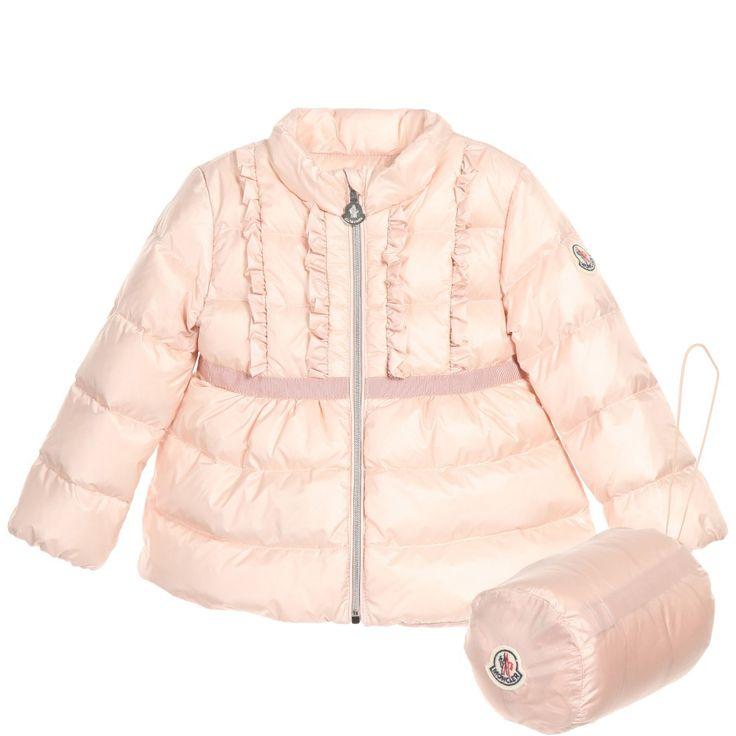 moncler baby jacke pink