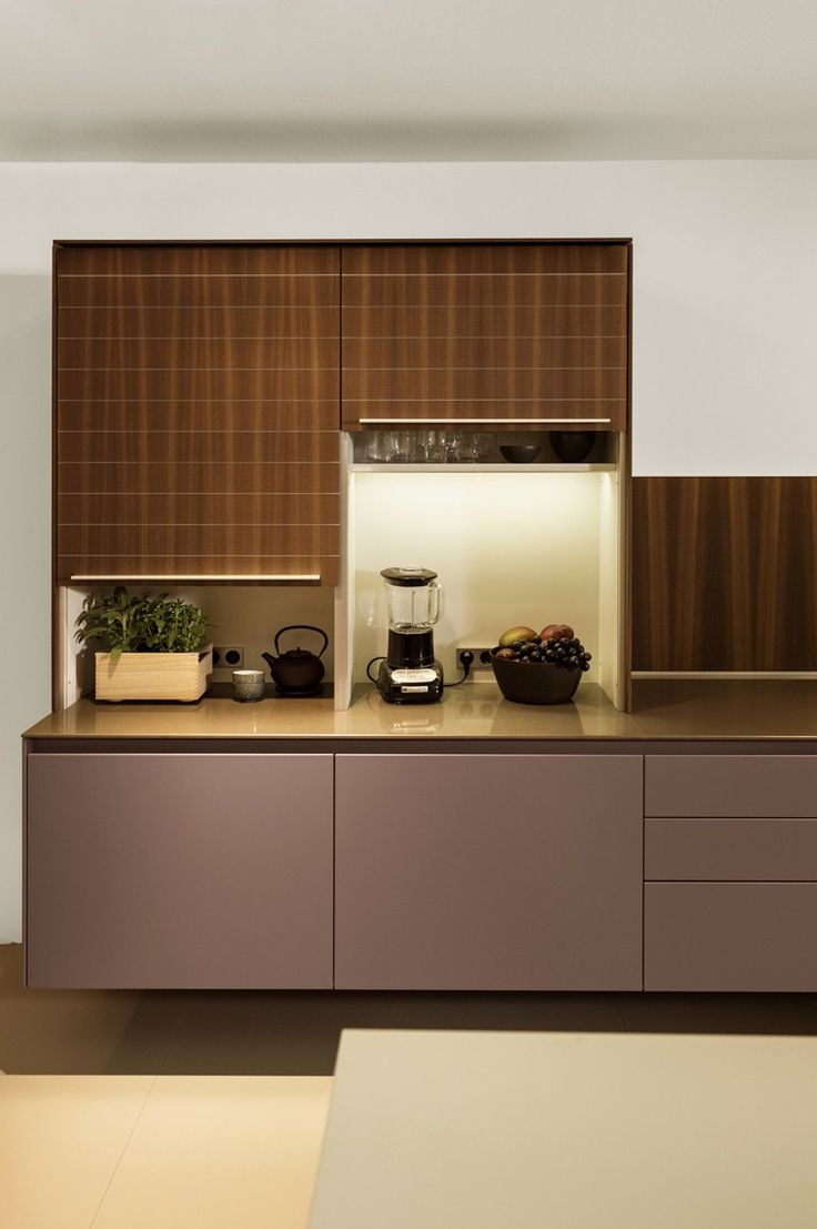 Hideaway stainless steel and wood #kitchen Hideaway kitchen b3 Collection by Bulthaup