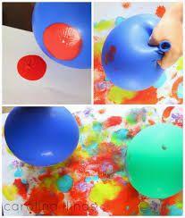 Resultado de imagen de tecnicas de pintura para niños de 3 a 5 años