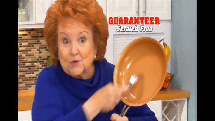 Red Copper Pan As Seen On TV