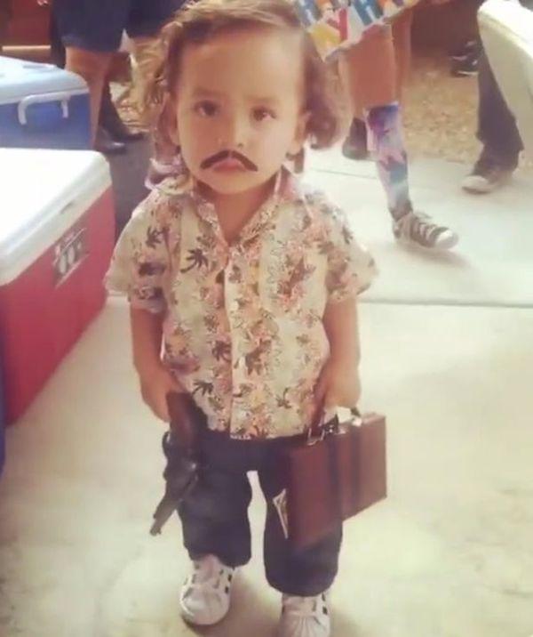 10 More Inappropriate Kid's Costumes - Pablo Escobar