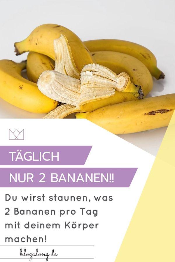 Wie man Banane isst, um Gewicht zu verlieren