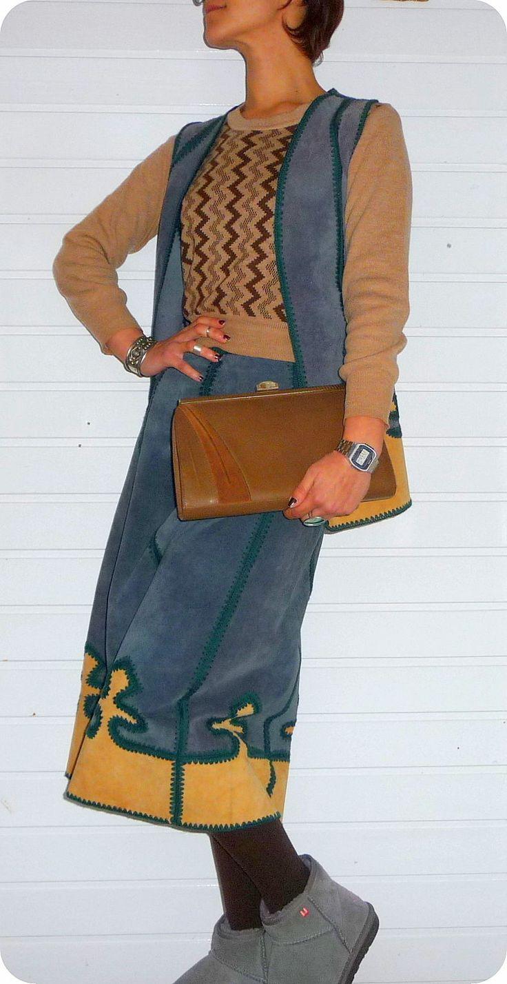 vintage madi tasche schultertasche bag handtasche abendtasche leder clutch 80er ebay my. Black Bedroom Furniture Sets. Home Design Ideas
