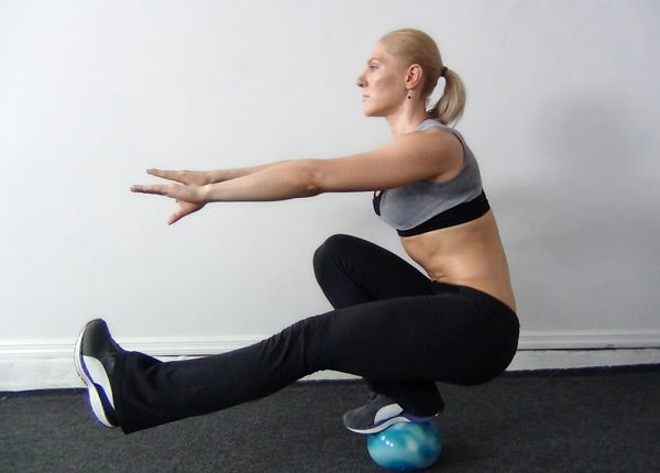 Fitness One Leg Squat - how to do a pistol squat