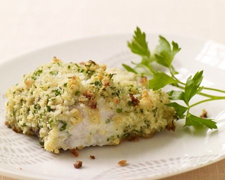 PointsPlus Nut-Crusted Mahi-Mahi Recipe