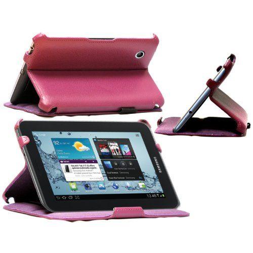 NAVITECH - Funda De Cuero Sintético Color Morado Multi Stand Para El Samsung Galaxy Tab2 7.0 P3100 B00BJHTXD8 - http://www.comprartabletas.es/navitech-funda-de-cuero-sintetico-color-morado-multi-stand-para-el-samsung-galaxy-tab2-7-0-p3100-b00bjhtxd8.html