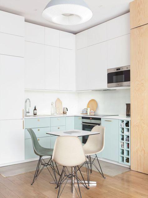 Appartement Paris 10  rénovation d\u0027un 42 m2 avec verrière in 2018
