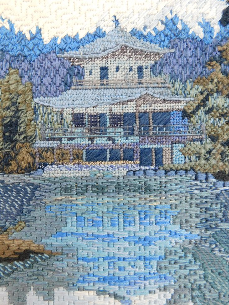 Canvas Stitches by RSN Student Sarah Smith