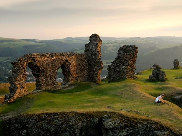 Rovine del castello Dinas Bran