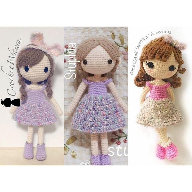 Small Amigurumi Doll Pattern : 1000+ ideas about Crochet Dolls on Pinterest Amigurumi ...