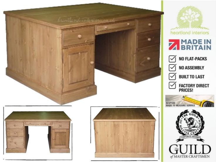 Traditional Twin Pedestal Partners Desk with Filing Drawers DPD1