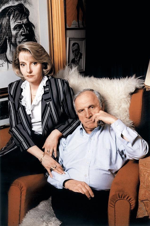 Михаил Ульянов с дочерью