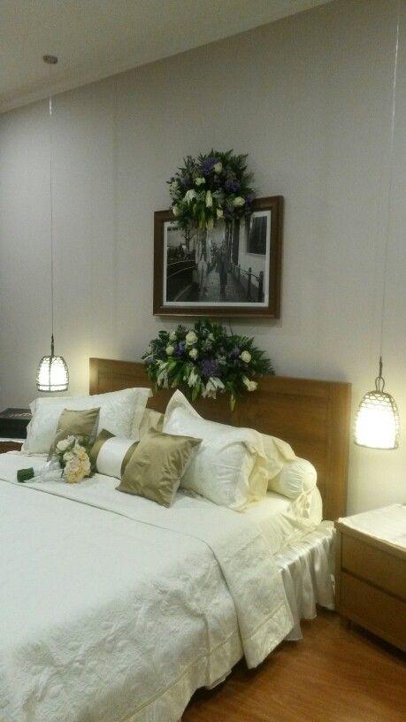 Beautiful and simple weddings room