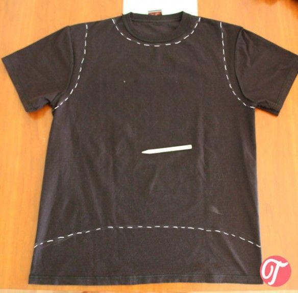 Cortar camisetas sexy