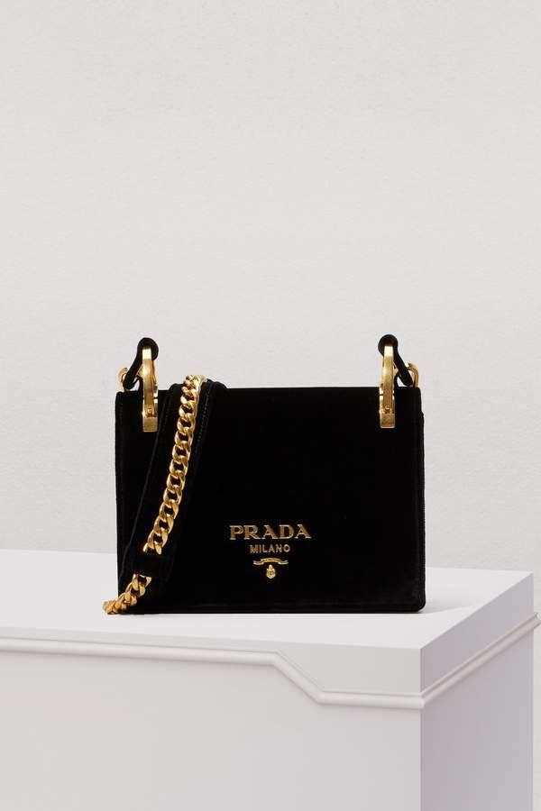 7e56339fc9d7 Prada Pattina Velvet Bag | PRADA bags in 2019 | Prada bag, Bags, Prada