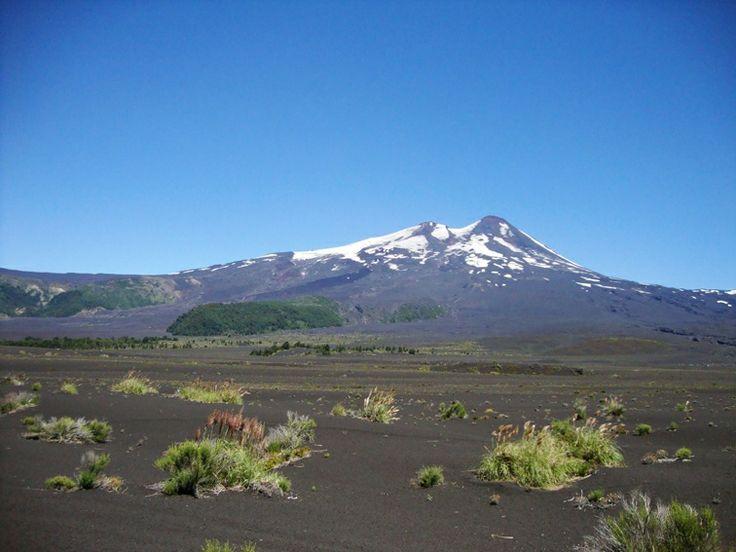 Volcán Llaima, Parque Nacional Conguillío, Chile.