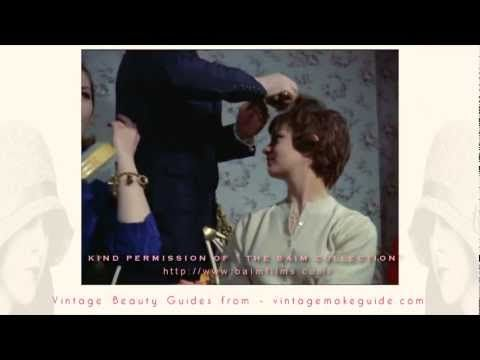 Vintage 1960's Hairstyle Tutorial (1960)