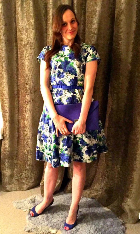 Louche Dress with Carvela Heels