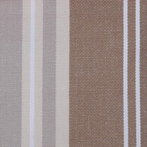French Stripe colour Earth. Find other great fabrics like this at www.curtaineasy.co.nz